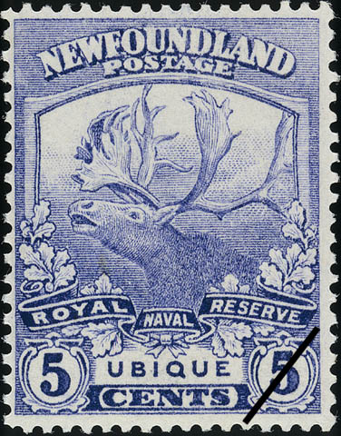 Royal Naval Reserve, Ubique, Everywhere Newfoundland Postage Stamp