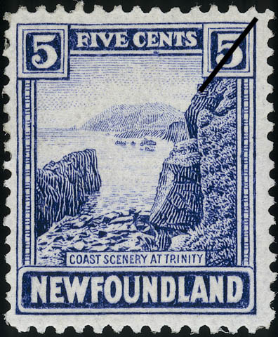 Coast Scenery at Trinity Newfoundland Postage Stamp