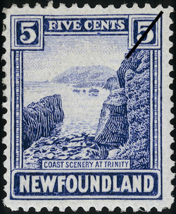 Coast Scenery at Trinity Newfoundland Postage Stamp