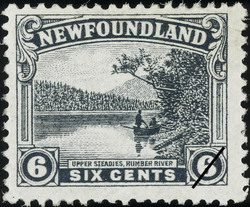 Upper Steadies, Humber River Newfoundland Postage Stamp