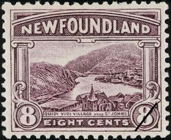 Quidi Vidi Village Near St. John's Newfoundland Postage Stamp