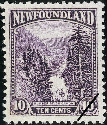 Humber River Canyon Newfoundland Postage Stamp