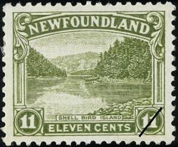 Shell Bird Island Newfoundland Postage Stamp