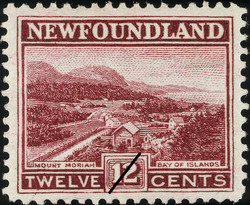 Mount Moriah, Bay of Islands Newfoundland Postage Stamp