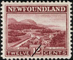 Mount Moriah, Bay of Islands Newfoundland Postage Stamp