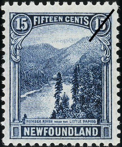 Humber River Near the Little Rapids Newfoundland Postage Stamp