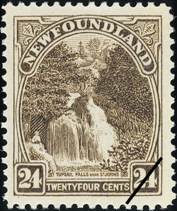 Topsail Falls Near St. John's Newfoundland Postage Stamp