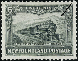 Express Crossing Newfoundland Newfoundland Postage Stamp