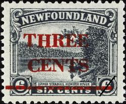 Upper Steadies, Humber River Newfoundland Postage Stamp