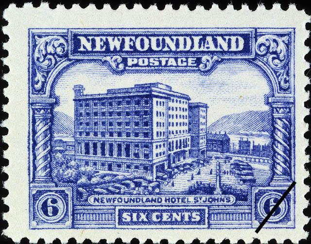Newfoundland Hotel, St. John's Newfoundland Postage Stamp