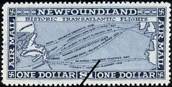 Historic Transatlantic Flight Newfoundland Postage Stamp