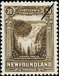 Grand Falls, Newfoundland, Labrador Newfoundland Postage Stamp