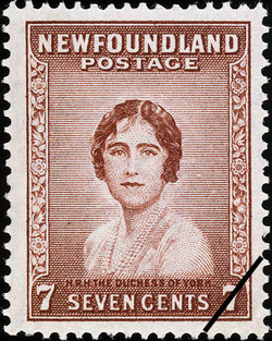 H.R.H. the Duchess of York Newfoundland Postage Stamp