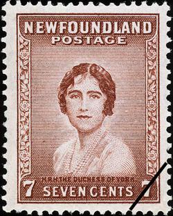 H.R.H. the Duchess of York Newfoundland Postage Stamp