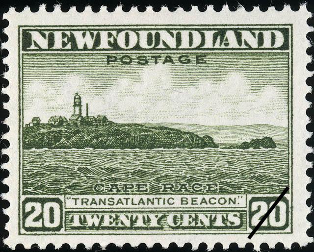 "Cape Race, ""Transatlantic Beacon"" Newfoundland Postage Stamp"