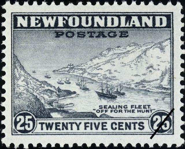 "Sealing Fleet, ""Off for the Hunt"" Newfoundland Postage Stamp"