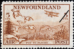 Put to Flight, Air Newfoundland Postage Stamp | Air Post