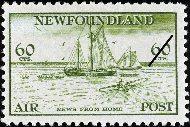 News from Home, Air Newfoundland Postage Stamp | Air Post