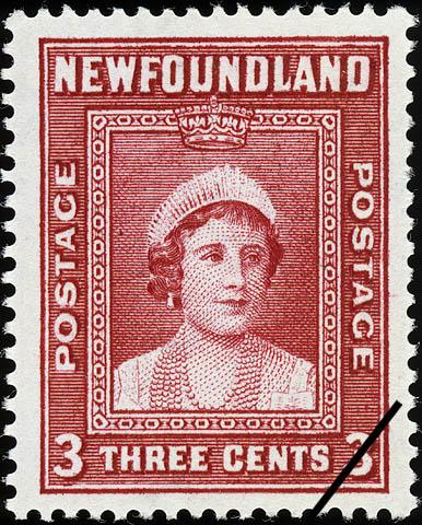 Queen Elizabeth Newfoundland Postage Stamp