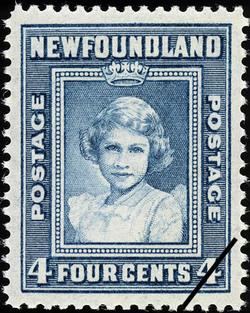 Princess Elizabeth Newfoundland Postage Stamp