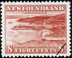 Corner Brook Paper Mills Newfoundland Postage Stamp