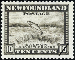 "Salmon, ""King of the Rivers"" Newfoundland Postage Stamp"