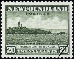 "Cape Race, ""Transatlantic Beacon"" Newfoundland Postage Stamp"