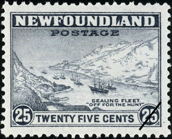 "Sealing Fleet, ""Off for the Hunt"" Newfoundland Postage Stamp"