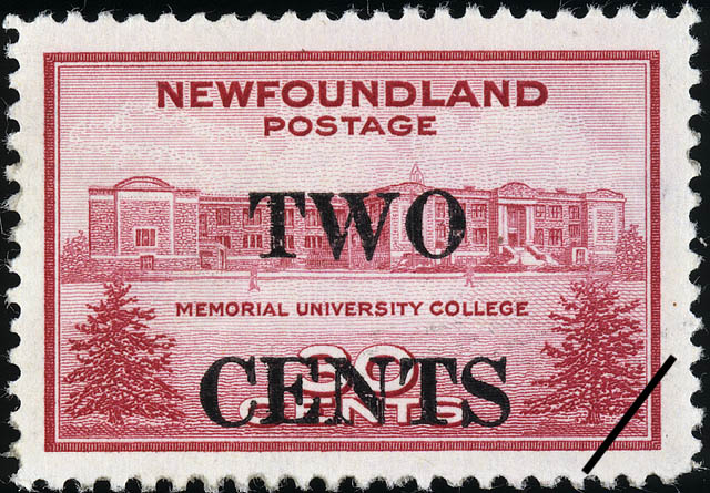 Memorial University College Newfoundland Postage Stamp