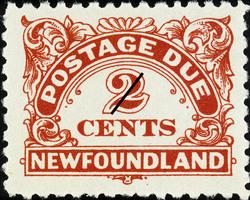 Postage Due Newfoundland Postage Stamp