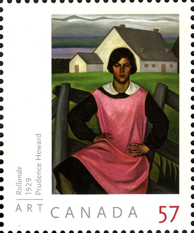 Prudence Heward - Rollande Canada Postage Stamp | Art Canada