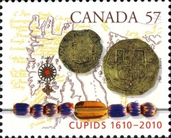 Cupids, 1610-2010 Canada Postage Stamp