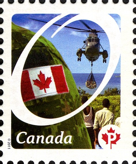 Canadian Forces - Canadian Pride Canada Postage Stamp | Canadian Pride - Definitives