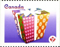 Celebration Canada Postage Stamp