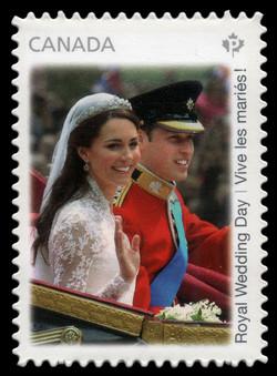 Royal Wedding Day Canada Postage Stamp | The Royal Wedding
