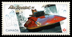 Miss Supertest III Canada Postage Stamp | Miss Supertest III