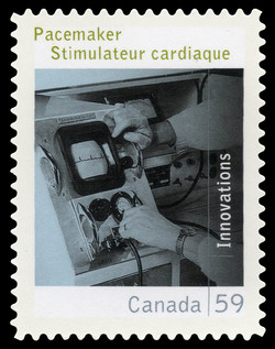 Pacemaker Canada Postage Stamp | Canadian Innovations