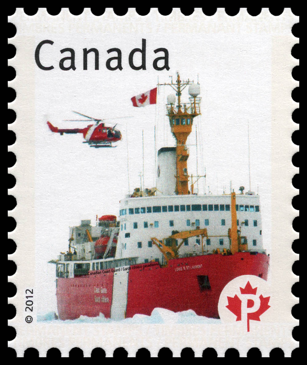 Canadian Coast Guard - Canadian Pride  Canada Postage Stamp