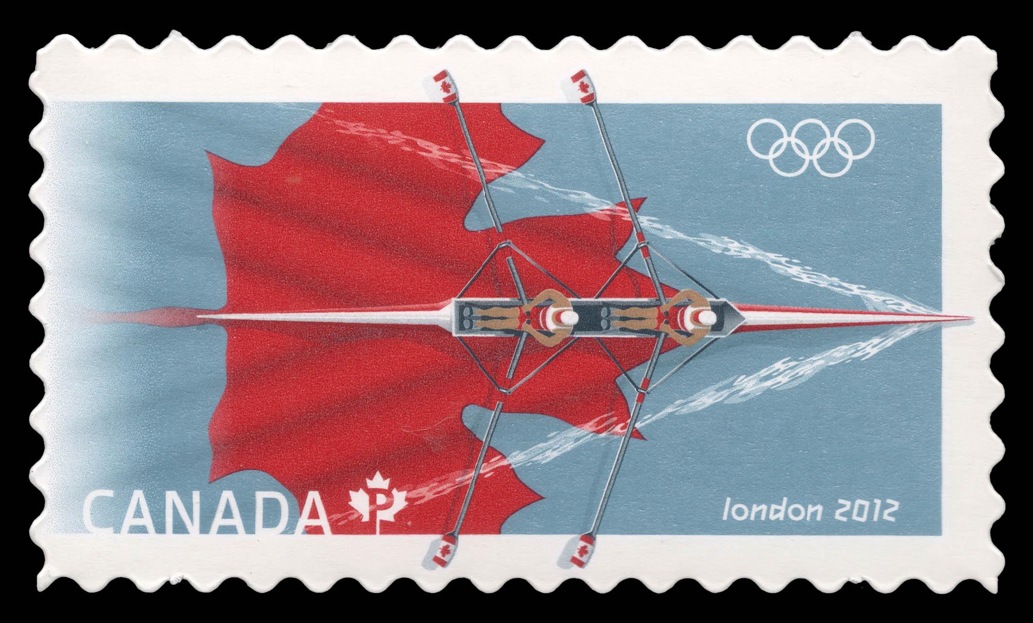 London 2012 Olympics Canada Postage Stamp
