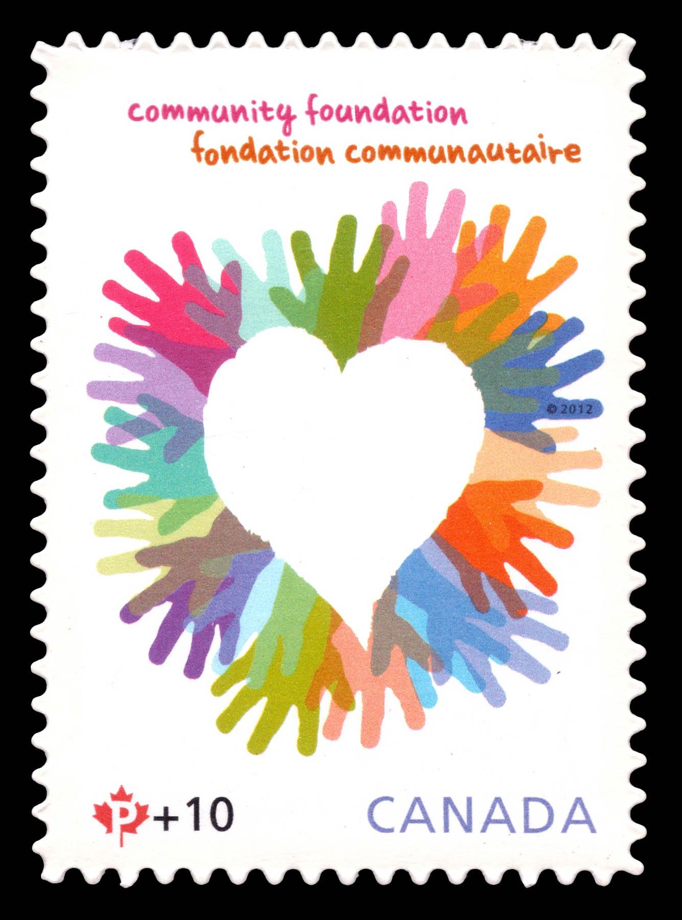 Canada Post Community Foundation Canada Postage Stamp