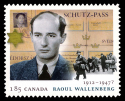 Raoul Wallenberg Canada Postage Stamp