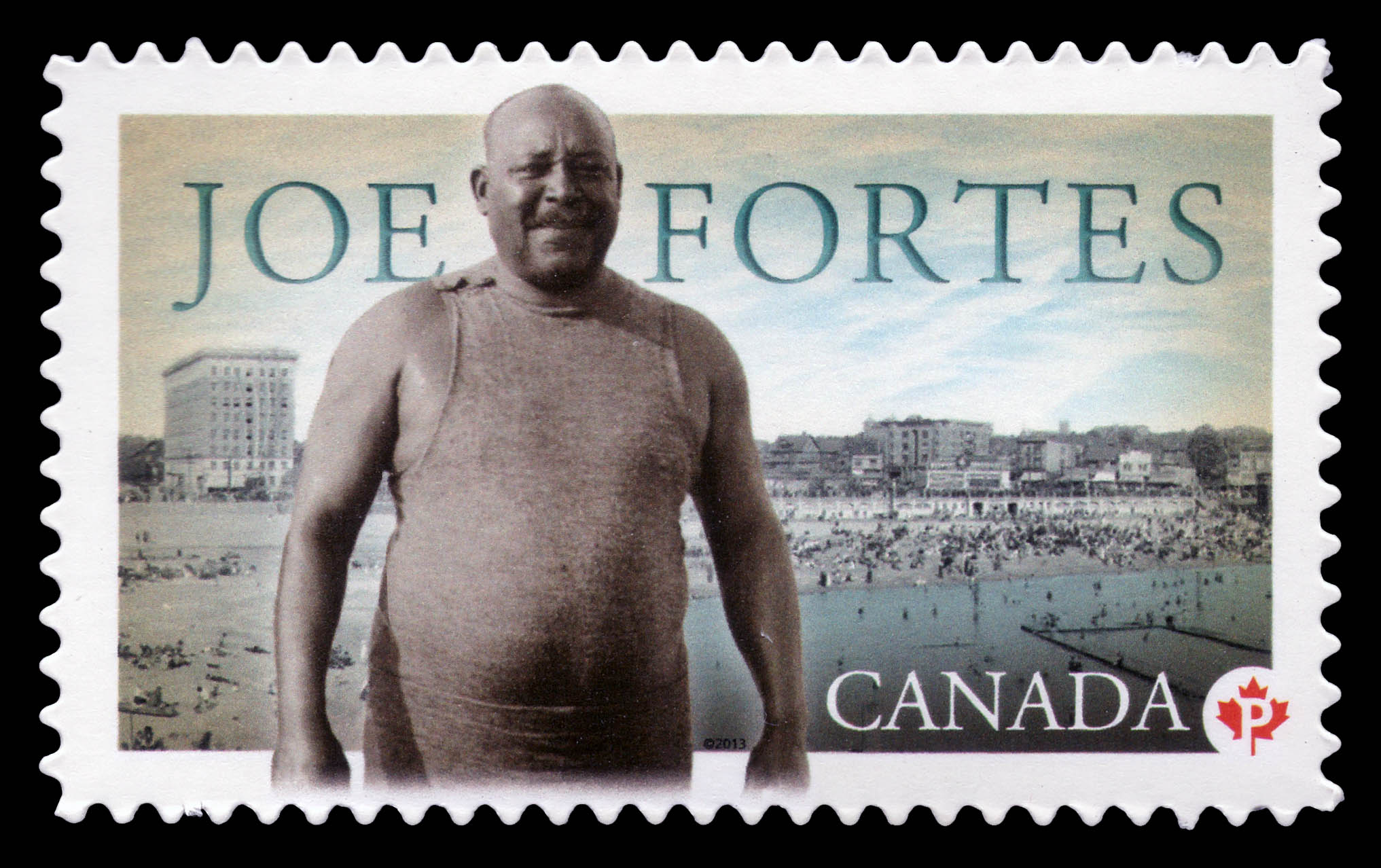 Joe Fortes Canada Postage Stamp | Black History Month