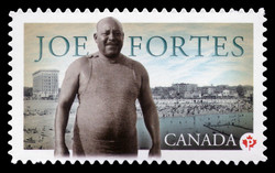 Joe Fortes  Postage Stamp