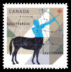 Signs of the Zodiac: Sagittarius Canada Postage Stamp | Signs of the Zodiac