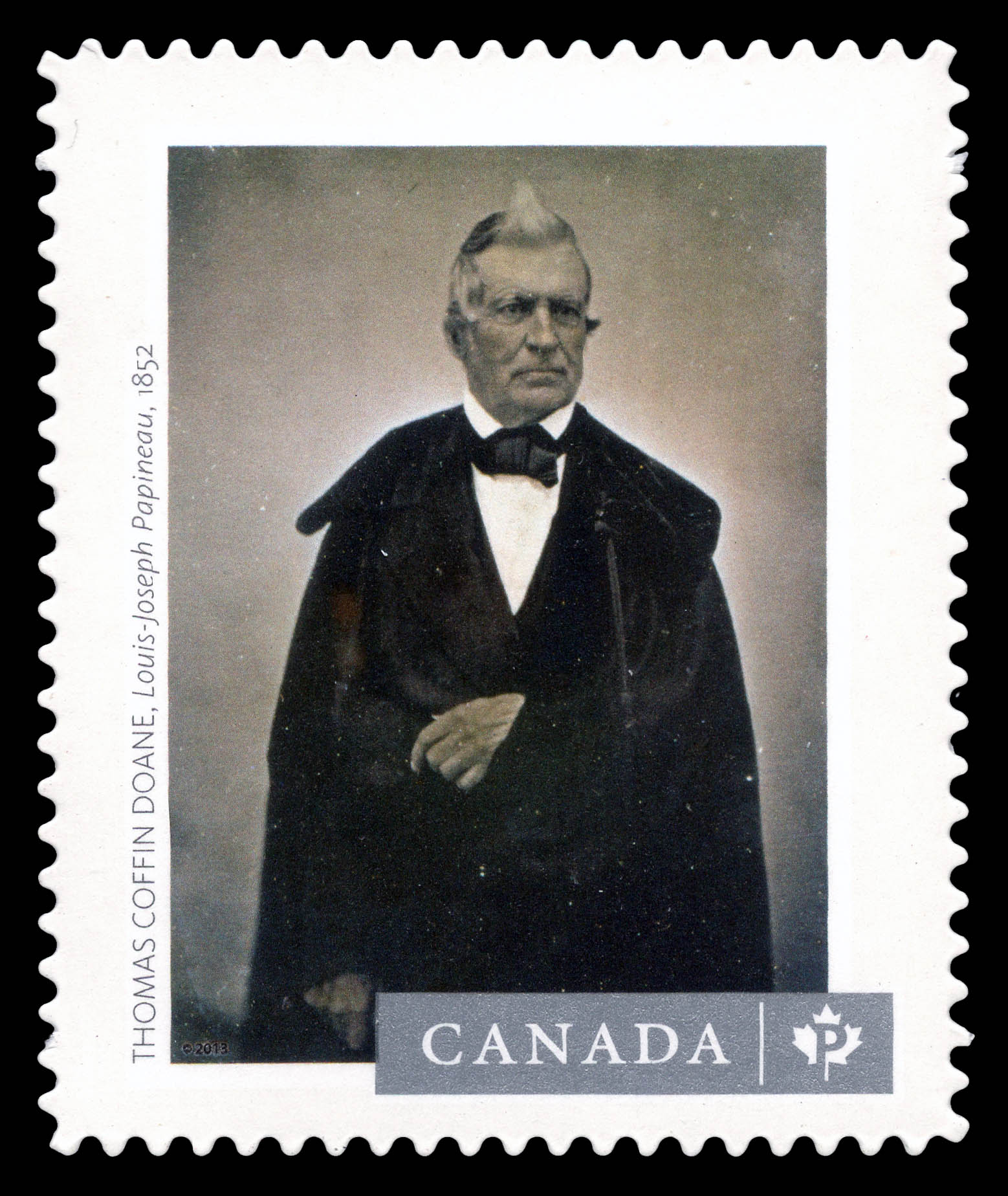 """Louis-Joseph Papineau"" Photograph Canada Postage Stamp 