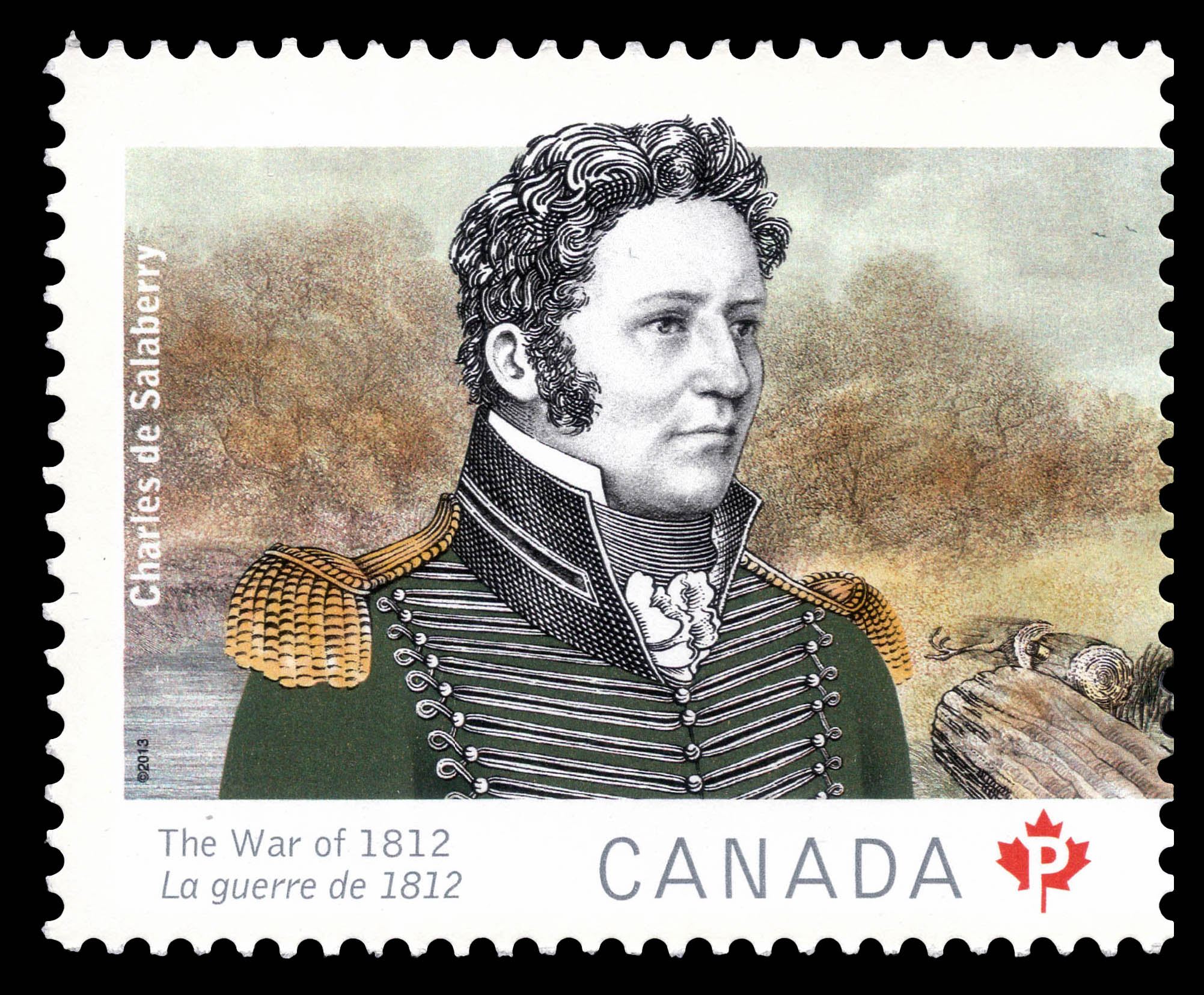 Charles de Salaberry Canada Postage Stamp | The War of 1812