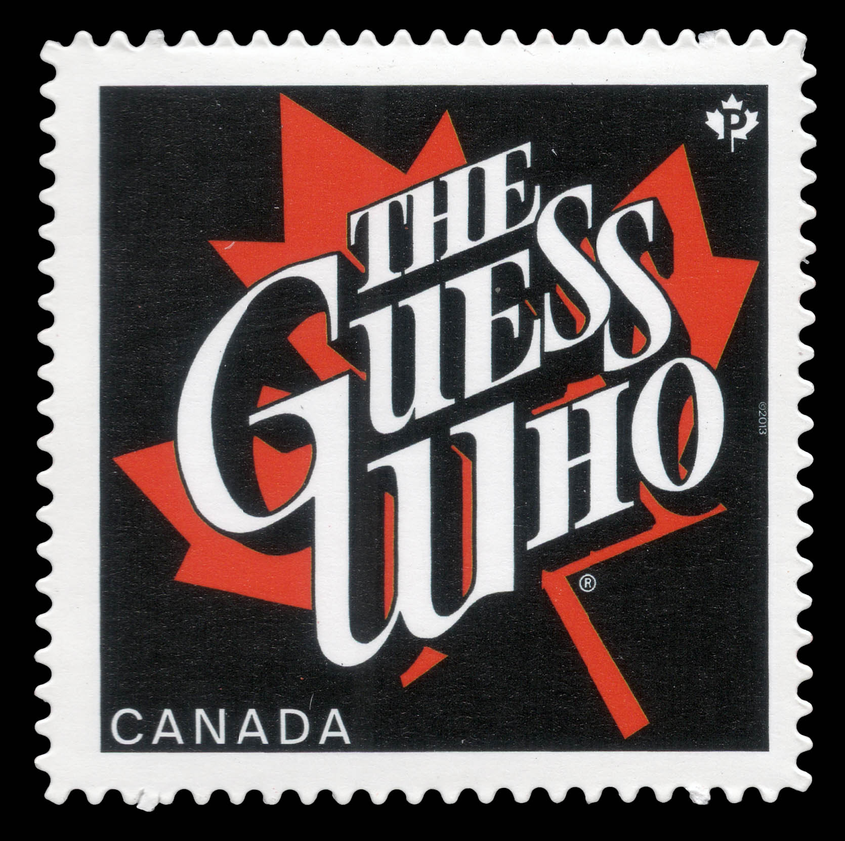 The Guess Who Canada Postage Stamp
