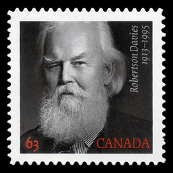 Robertson Davies Canada Postage Stamp