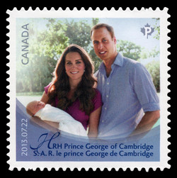 The Royal Infant Canada Postage Stamp