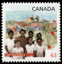 Africville Canada Postage Stamp | Black History Month